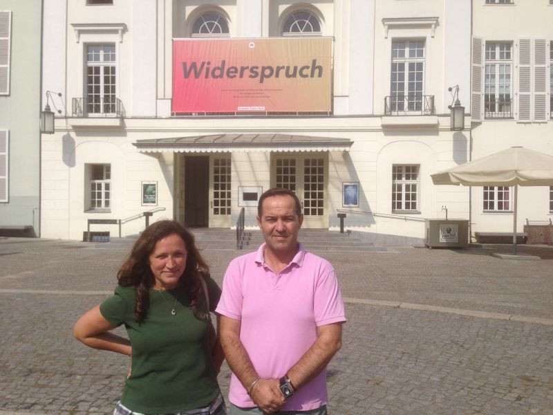 Ardian-Christian Kyçyku dhe Feride Berisha, Deutsches Theater Berlin, 16.9.2014